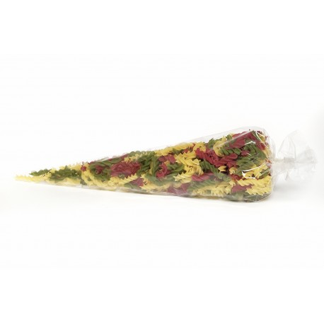 Kornout TRIO vrtule (špenát, semolina, červená řepa)